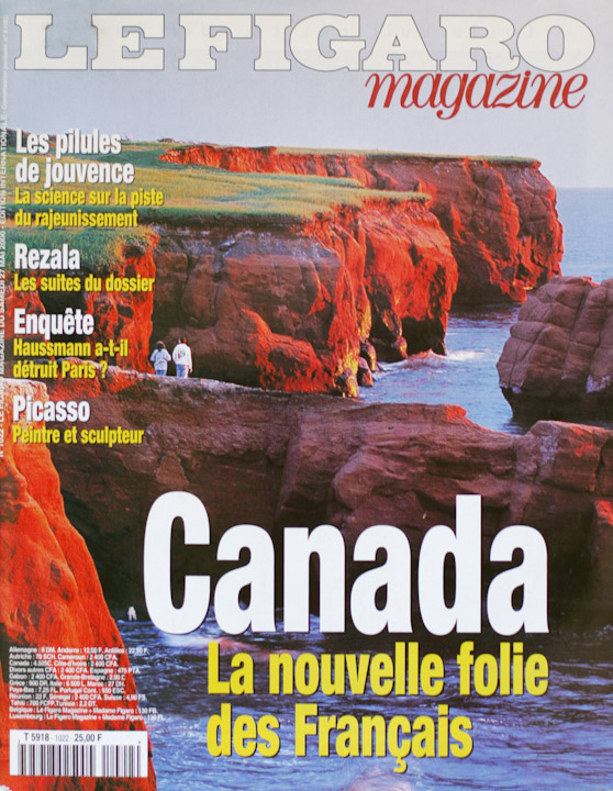 Le Figaro magazine et Sébastien Larose