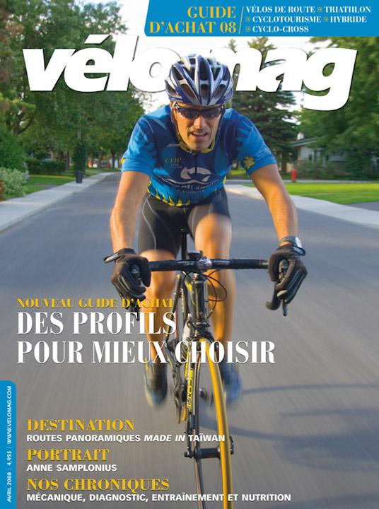 vélo mag et Sébastien Larose