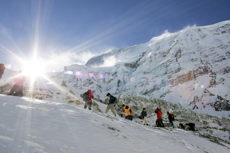 Expédition au Népal
